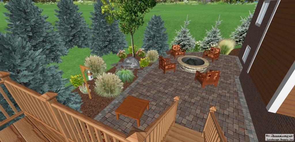Landscaping design and installation in michigan from a complex landscape design to a simple idea for a weekend do it yourself project ameriscapes landscape supply is able to handle all of your needs solutioingenieria Image collections