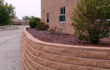 Retaining walls in Michigan
